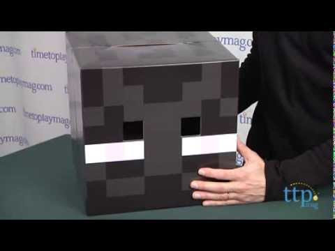 Minecraft Enderman Cardboard Head From Spin Master