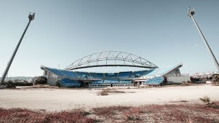 abandoned olympic stadium 2004 Athens