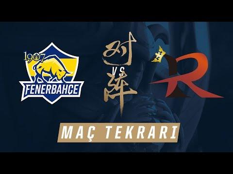 1907 Fenerbahçe Espor ( FB ) vs Rampage ( RPG ) Maçı | Worlds 2017 Ön Eleme 1. Tur