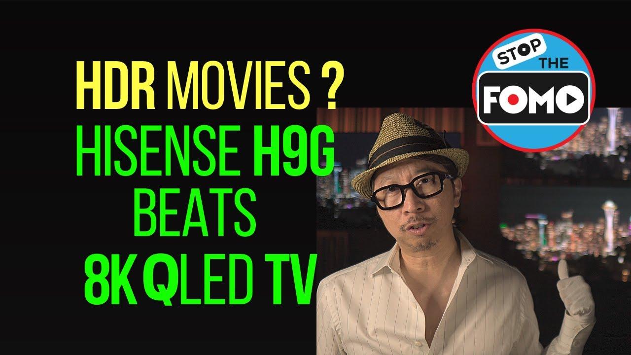 HiSense H9G vs $5500 QLED TV HDR Review: Samsung NOT Happy!!
