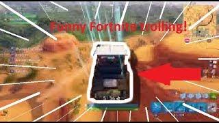 Funny Golf cart troll | Fortnite trolling