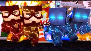 Minecraft: WHO'S YOUR FAMILY? - BABY FLASH VS BABY SAVITAR! (Baby Flash e Savitar)