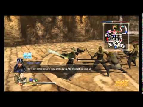 Cùng chơi Dynasty Warrior 8 – Shu – tập 1 :Cùng Liu Bei càn quét đội quân khăn vàng