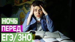 НОЧЬ ШКОЛЬНИКА ПЕРЕД ЕГЭ / ЗНО     /RedSide/РедСайд/
