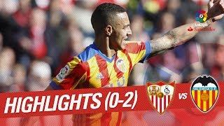 Resumen de Sevilla FC vs Valencia CF (0-2)