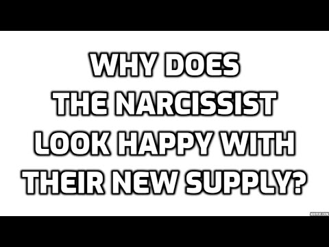 Why Does The Narcissist Look Happy With Their New Supply?