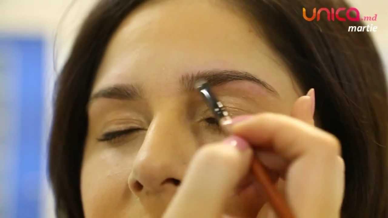 Frumusetea se invata - Secretul unor sprâncene perfecte (master class video)