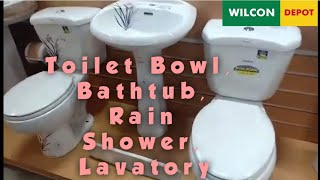 Vlog#22 | Wilcon Bathroom Fixtures and Accessories | Rainshower | Bathtub | Lavatory | Emz Amita