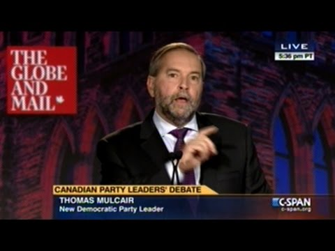 Canadian Party Leaders Debate On The Economy