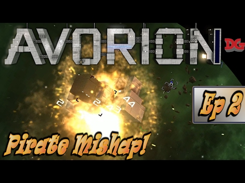 Avorion Let's Play ► Episode 2 - Pirate Mishap! (1440p/60)