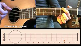 Your Call [Guitar Lesson/Gitarren Tutorial] by SoundElement T#08