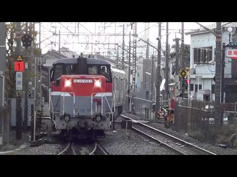 "[FHD]「スマートベスト」甲種輸送(20121213) ""Smart BEST"" experimental train Delivery"