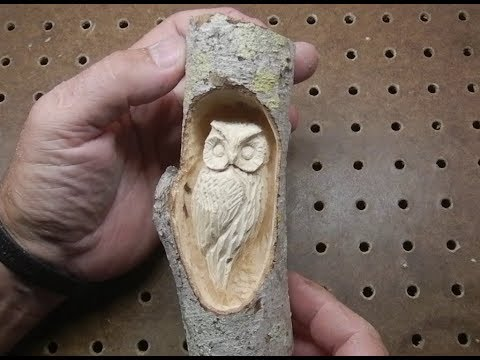 Carving a small