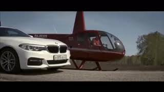 Bmw G30 Против Вертолёта