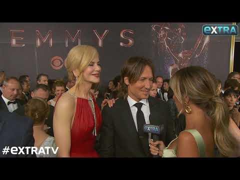 Nicole Kidman Hits the Emmy Awards Red Carpet Fresh...