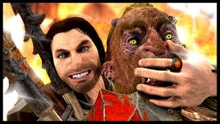 IF THEY DIE THEY GO BOOM! | Shadow of War - Funny Moments Gameplay