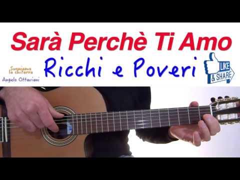 Sarà Perchè Ti Amo - Ricchi e Poveri - Karaoke Score