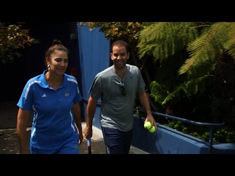 UCLA's Stella Sampras-Webster And Brother Pete Have Always Bonded Over Tennis