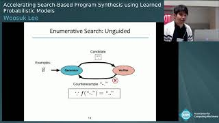 Accelerating Search-Based Program Synthesis using Learned Probabilistic Models