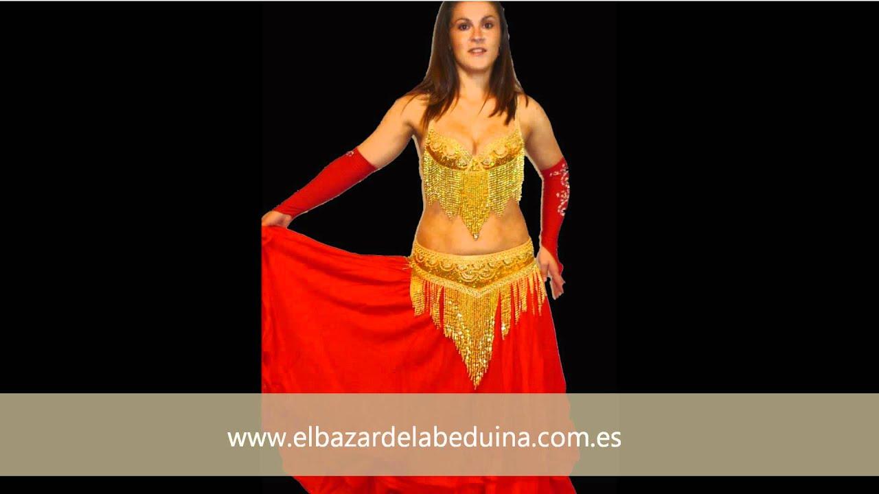 3ac0daeb26 Trajes Danza del Vientre - Ropa danza oriental - Tienda - YouTube