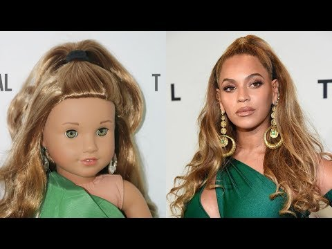 RECREATING CELEBRITIES' PHOTOS WITH MY DOLLS