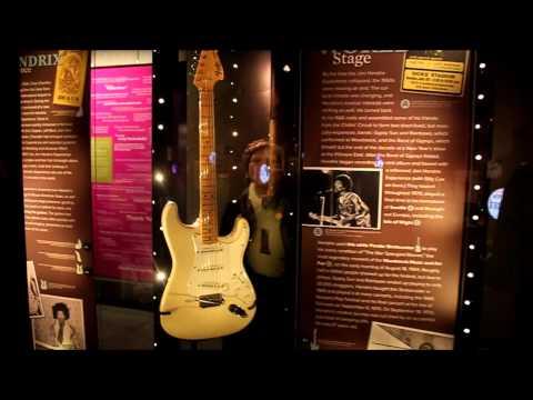 The Jimi Hendrix Exhibit @ The EMP Museum - Seattle Washington