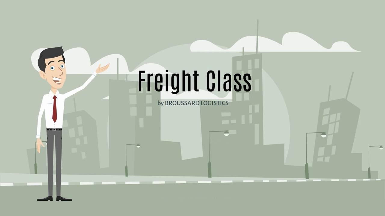Freight classification tips broussard logistics youtube for National motor freight traffic association