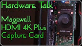 Magewell Pro Convert HDMI 4K - First Look - YouTube