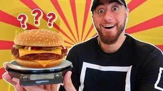 Does A McDonalds Quarter Pounder ACTUALLY WEIGH A Quarter Pound! *SOLVING FAST FOOD MYTHS!*
