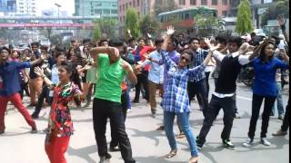 WILLES LITTLE FLOWER-ICC WORLDCUP T20 FLASH MOB