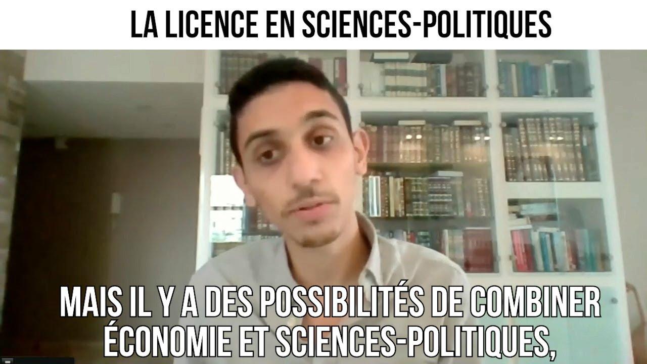 La licence en sciences-politiques - CNEF#40