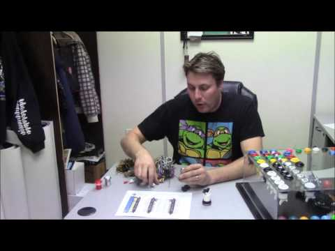 How to wire arcade pushbuttons and microswitches - YouTube