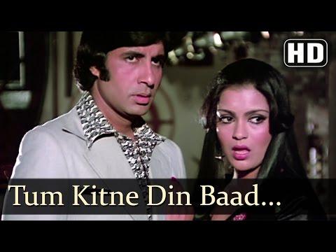 Tum Kiten Din Baad Mile - Zeenat Aman - Amitabh Bachchan - The Great Gambler - Hindi Songs