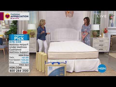 Mattress Helper Undermattress Support Twin Youtube