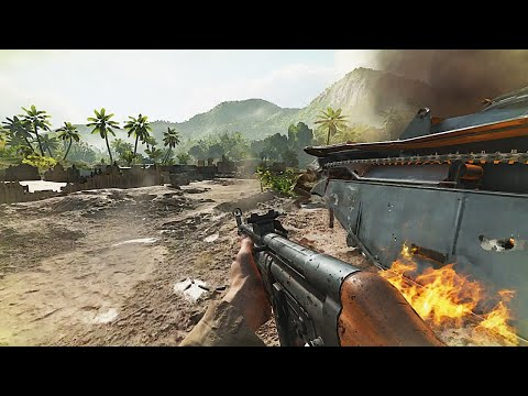 Battlefield 5 - Japanese Defense On Solomon Islands - NO HUD Immersion