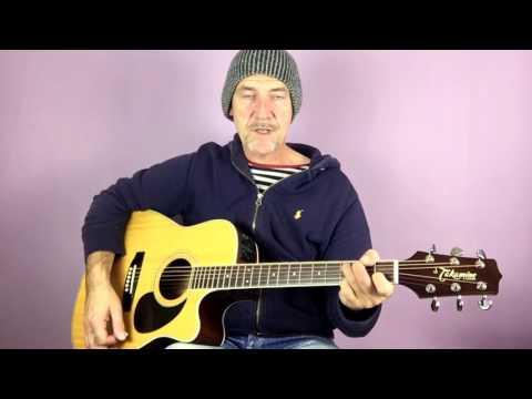 Cat Stevens - Wild world - Guitar lesson by Joe Murphy