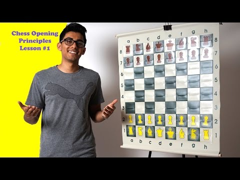 How to Play Chess Openings Lesson #1: Control The Center