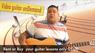 Guitar video on demand by Ralph Conde