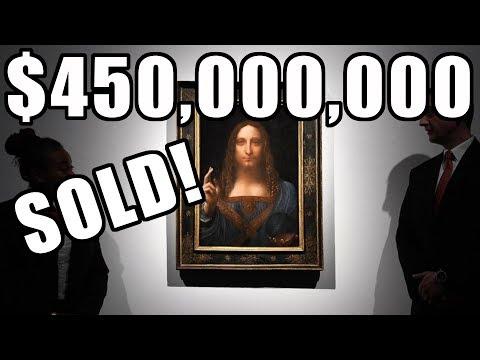 Leonardo da Vinci's Salvator Mundi Sells for $450,000,000 at Christies New York