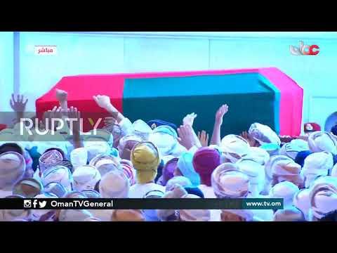 Oman: Funeral of Sultan Qaboos held in Muscat