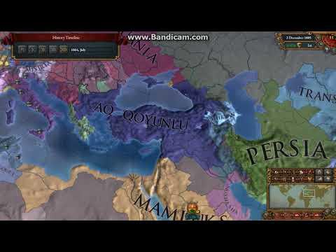 Europa Universalis 4 Timelapse - Seljuk of Rum