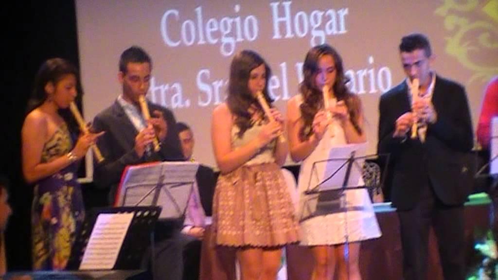Colegio Hogar Nuestra Senora Del Rosario Mamma Mia Youtube