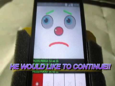 Robot smartphone Android face detective gadget