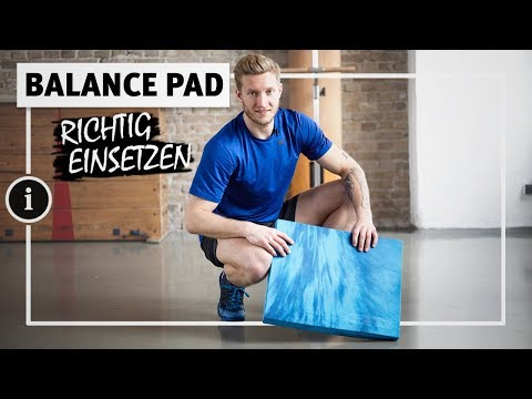 "Video: Sport-Thieme Balance Pad ""Premium"""