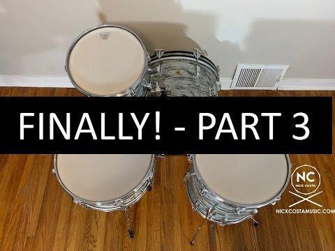 1967 Ludwig Downbeat Restoration (Part 3)