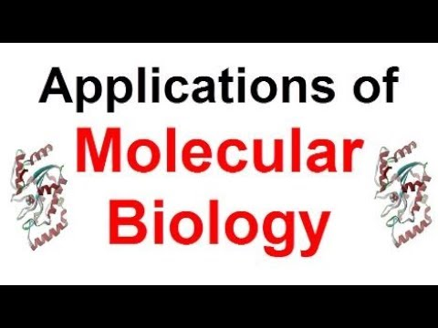 Applications of Molecular Biology in Medical Sciences !!!
