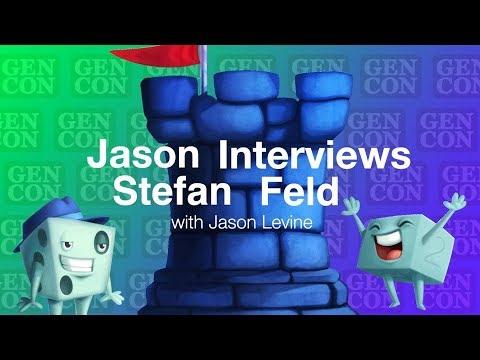 Jason Interviews Stefan Feld - Gen Con 2019