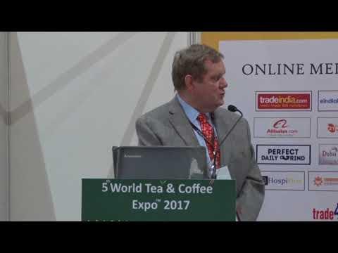 5th World Tea & Coffee Expo 16 - 18 Nov 2017 Conference Speaker Mr. Joachim Eichner