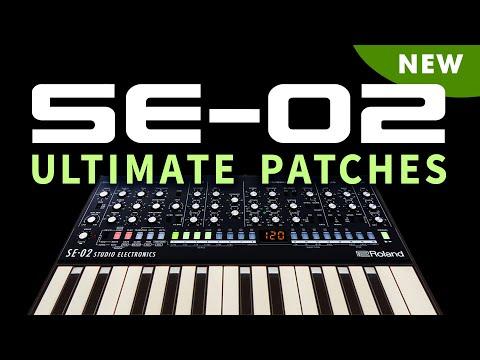 ROLAND SE-02 ULTIMATE PATCHES VOL. 1-3
