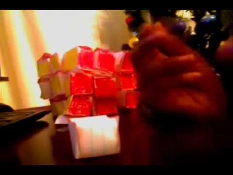 how to make a 3x3x3 paper rubiks cube youtube. Black Bedroom Furniture Sets. Home Design Ideas